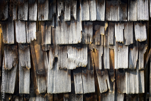 old wooden shingles