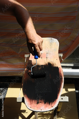 Restore an Old Vintage Skateboard