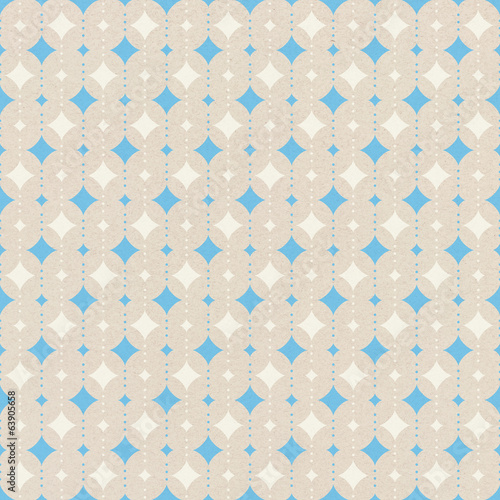 Seamless pattern on  paper texture