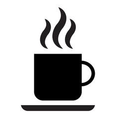 Векторная иконка чашка кофе