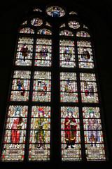 Interior of Rijksmuseum in Amsterdam, Netherlands