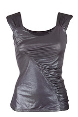 Female metallic tank top