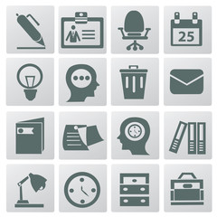 Business & office icons,vector