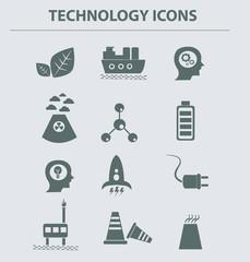Energy icons,vector