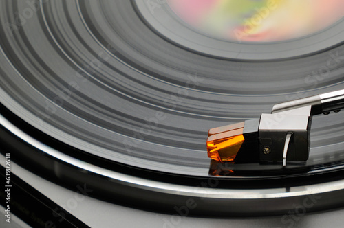 Turntable vinyl LP