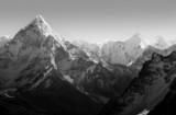 Himalaya Mountains Black and White - 63910631