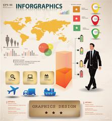 Business graphics design,info graphics,vector
