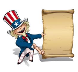 Uncle Sam Presenting Declaration