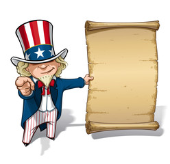 Uncle Sam I Want You Declaration
