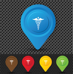 Medical symbol,vector