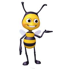 bee showcase pose