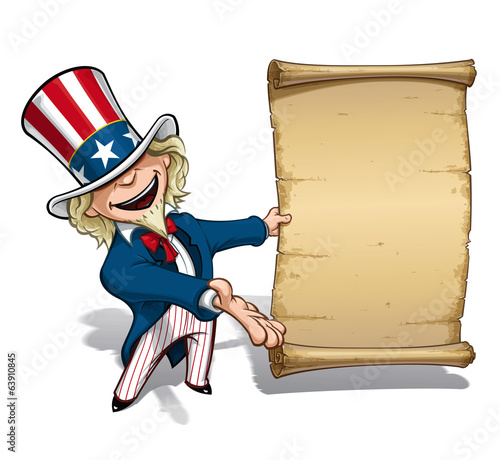 Uncle Sam Presenting Declaration