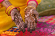 henna design, bride , wedding , Rajasthan, India