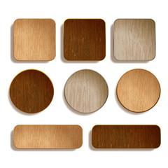 wood plate,whiteback