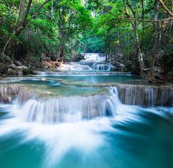 Layer of waterfall at Huay Mae Khamin
