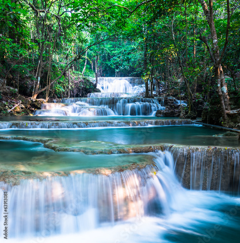 Waterfall at Huay Mae Khamin National Park, Thailand