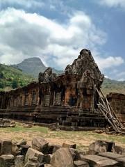 World Heritage Site Wat Phu Champasak Temple, Southern Laos