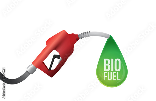 bio fuel illustration design