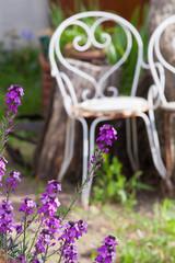 Le fauteuile de jardin