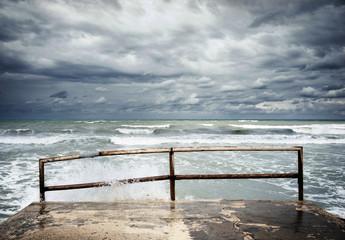 Guardando la tempesta