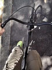 evitiamo il traffico in bici