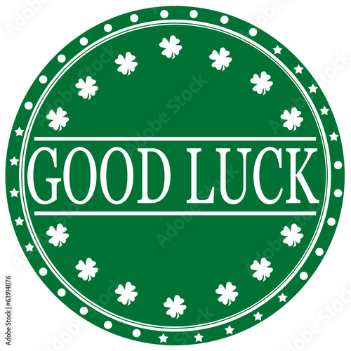 Good Luck-label