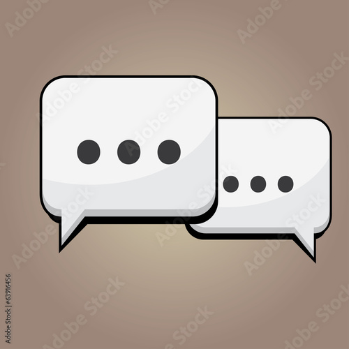 Detailed Chat Icons