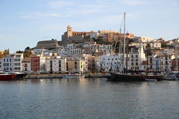 General view of Ibiza ciudad