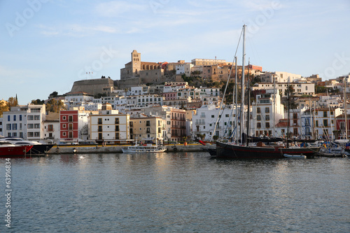 General view of Ibiza ciudad