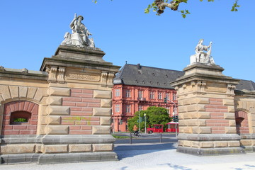 Mainz, Schlosstor (April 2014)