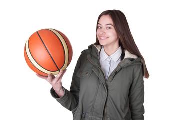 Teenage Basketball Player