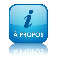 "Bouton Web ""A PROPOS"" (marketing en savoir plus informations)"