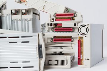 Computerschrott Gehäuse