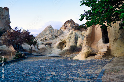 Churches in rocks of Cappadocia