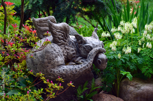 canvas print picture drache