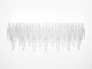 white men in studio pattern