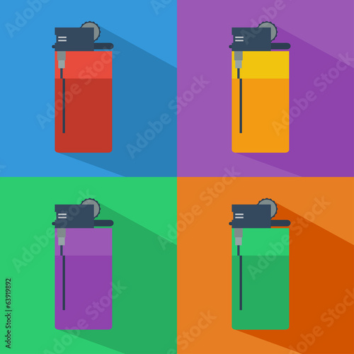 Set of Lighters