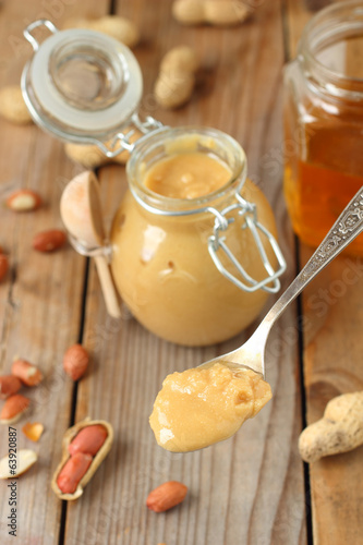 Homemade Peanut butter jar