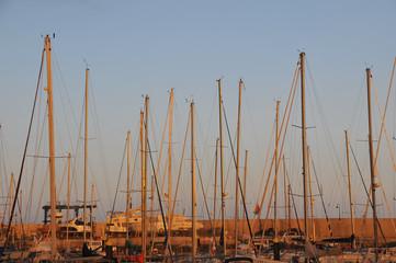 Sailing Boat Mast