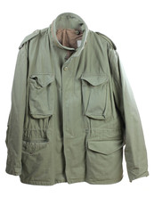 Old military jacket
