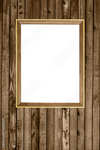 wooden photo frame hanging wood wall