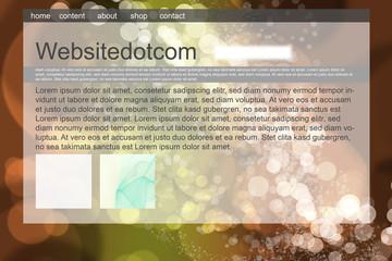 Generische Webseite