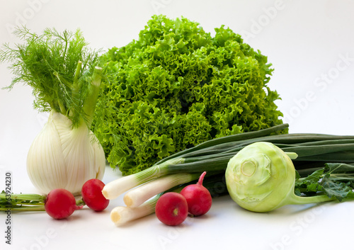 arrangement of various vegetables