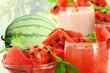 watermelon juice watermelon milkshake with watermelon