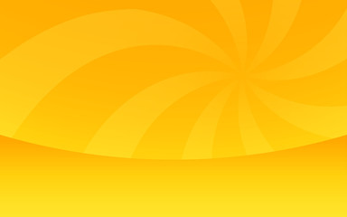 summer gradient yellow with spin light ray background