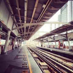 skytrain station platform