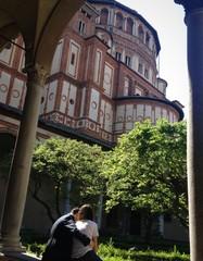 gli amanti di Santa Maria delle Grazie - Milano