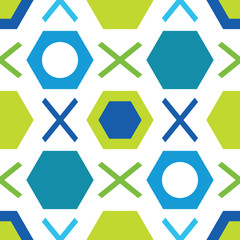 Graphic seamless pattern