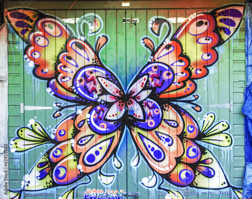 Butterfly Graffiti