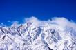 雪の五竜岳